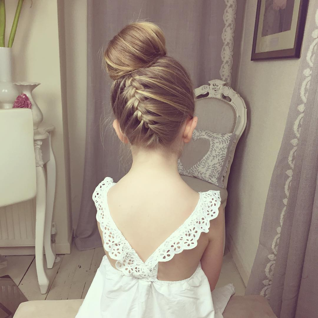 Hairstyles For Girls In Wedding: 40 Cool Hairstyles For Little Girls On Any Occasion