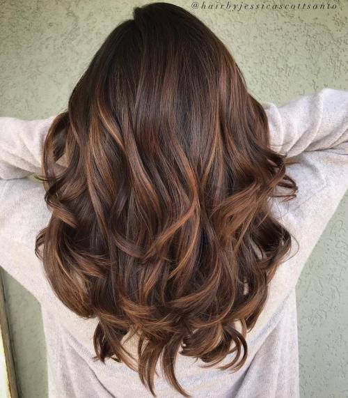 16 Ccolate Brown Hair Color Ideas for Brunettes