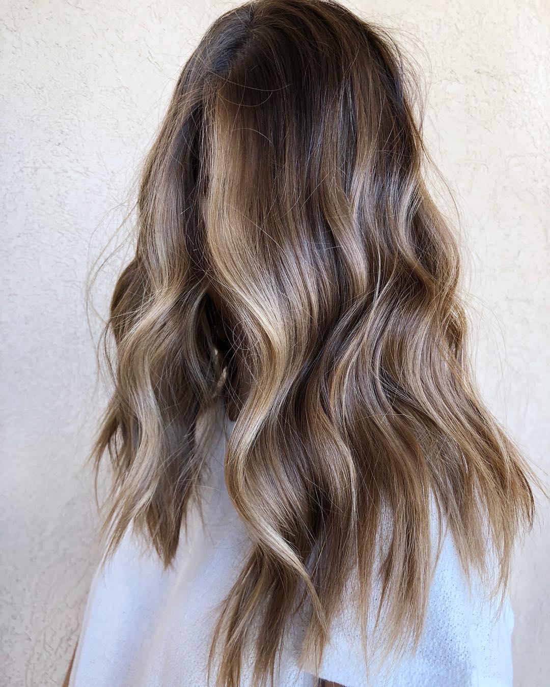 Bronde Colormelt For Long Hair