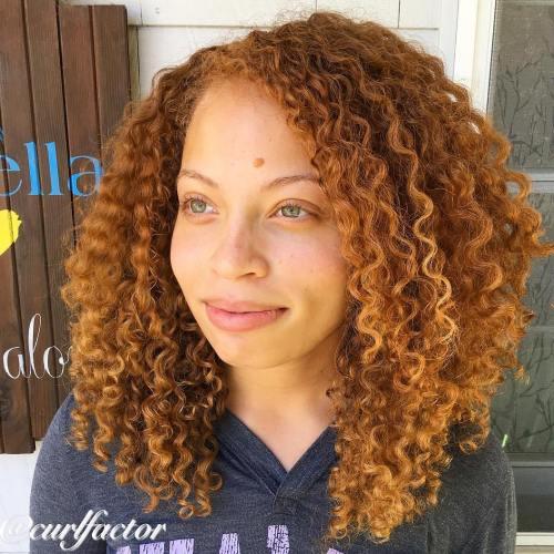 Medium Natural Layered Hairstyle