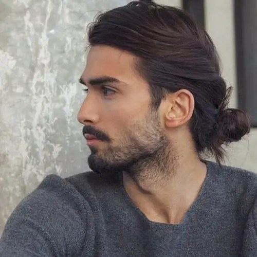 Peachy 50 Stately Long Hairstyles For Men Hairstyles For Men Maxibearus