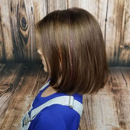 Lob Haircut For Girls