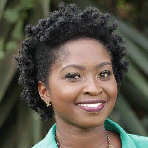 Simple Hairstyle For Short Natural Hair