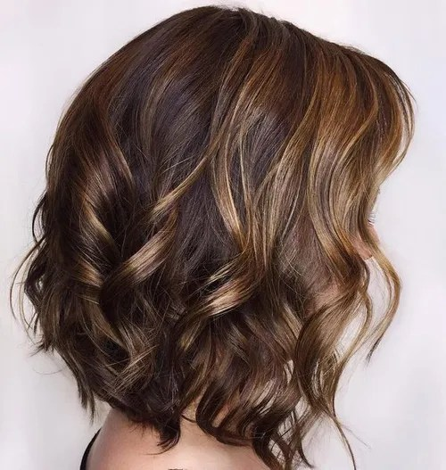 17 Looks with Caramel Highlights on Brown and Dark Brown Hair