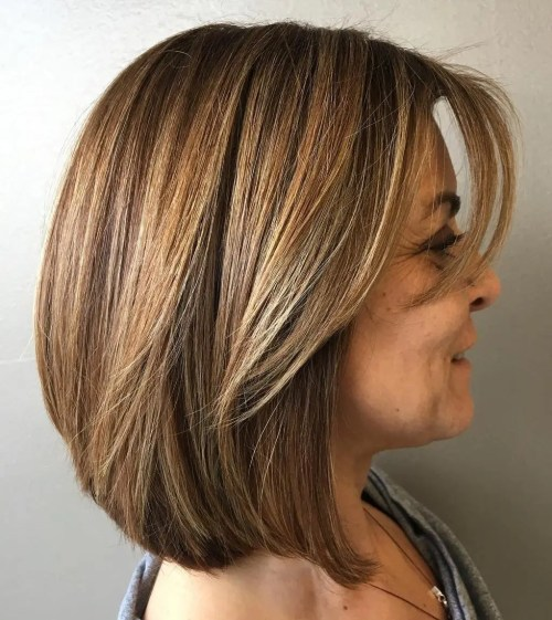 Over A-Line Bob Hairstyle