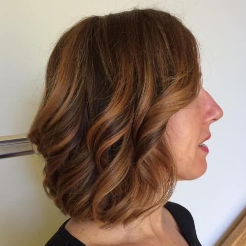 60 looks with caramel highlights on brown and dark brown hair curly brown bob with caramel highlights pmusecretfo Images