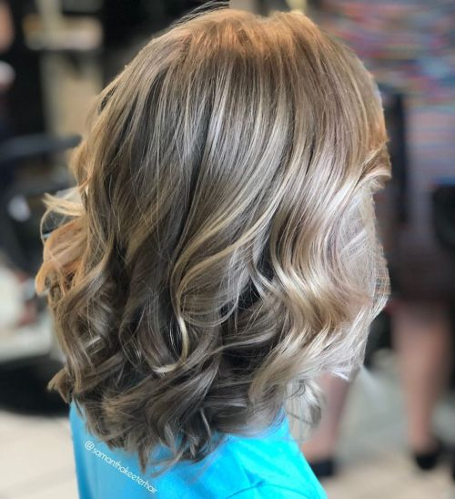 Medium Haircut For Girls With Thick Hair