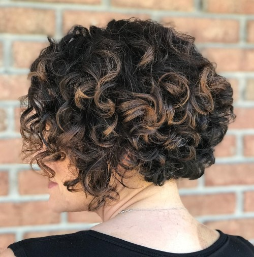 55 styles and cuts for naturally curly hair in 2018 short bob hairstyle for curly hair solutioingenieria Image collections