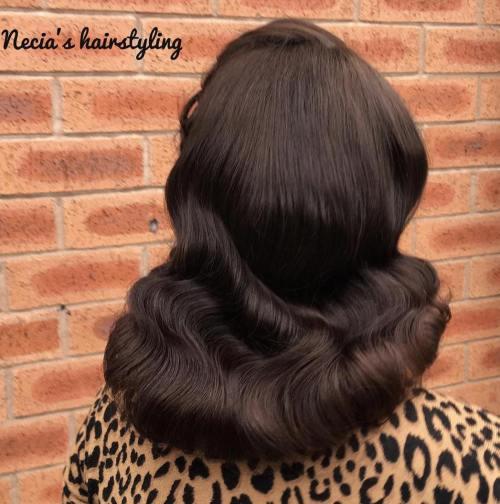 Brunette Vintage Downdo