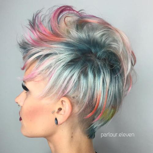 Multi-Colored Pastel Pixie