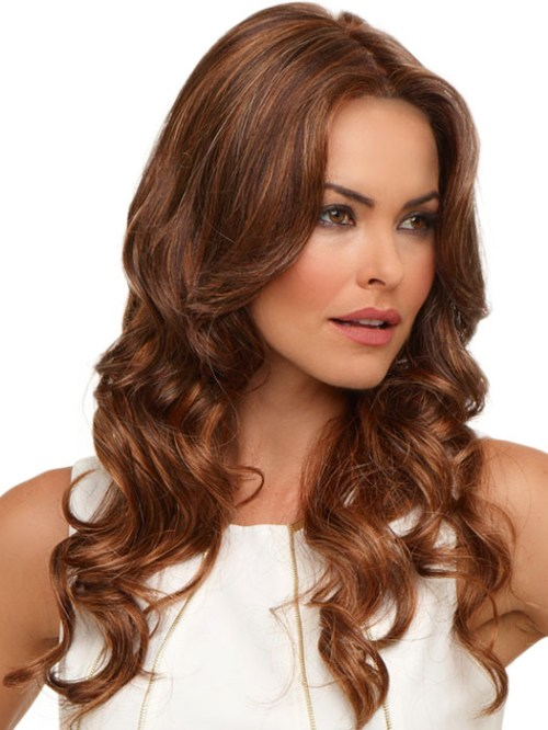 35 Scrumptious Vibrant Hues For Chocolate Brown Hair
