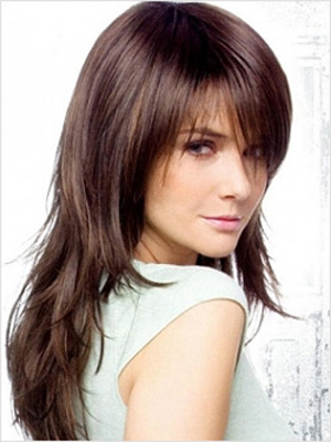 medium to long haircut for girls