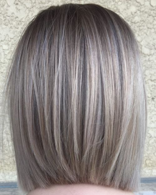 Straight Bob Hairstyle For Fine Hair