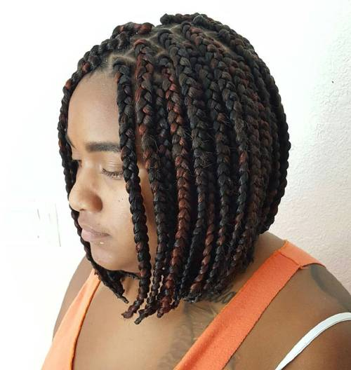 40 Best Big Box Braids Hairstyles Jumbo Box Braids