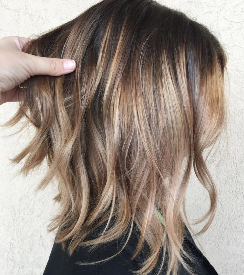 Layered Mid Length Haircuts For Fine Hair 29