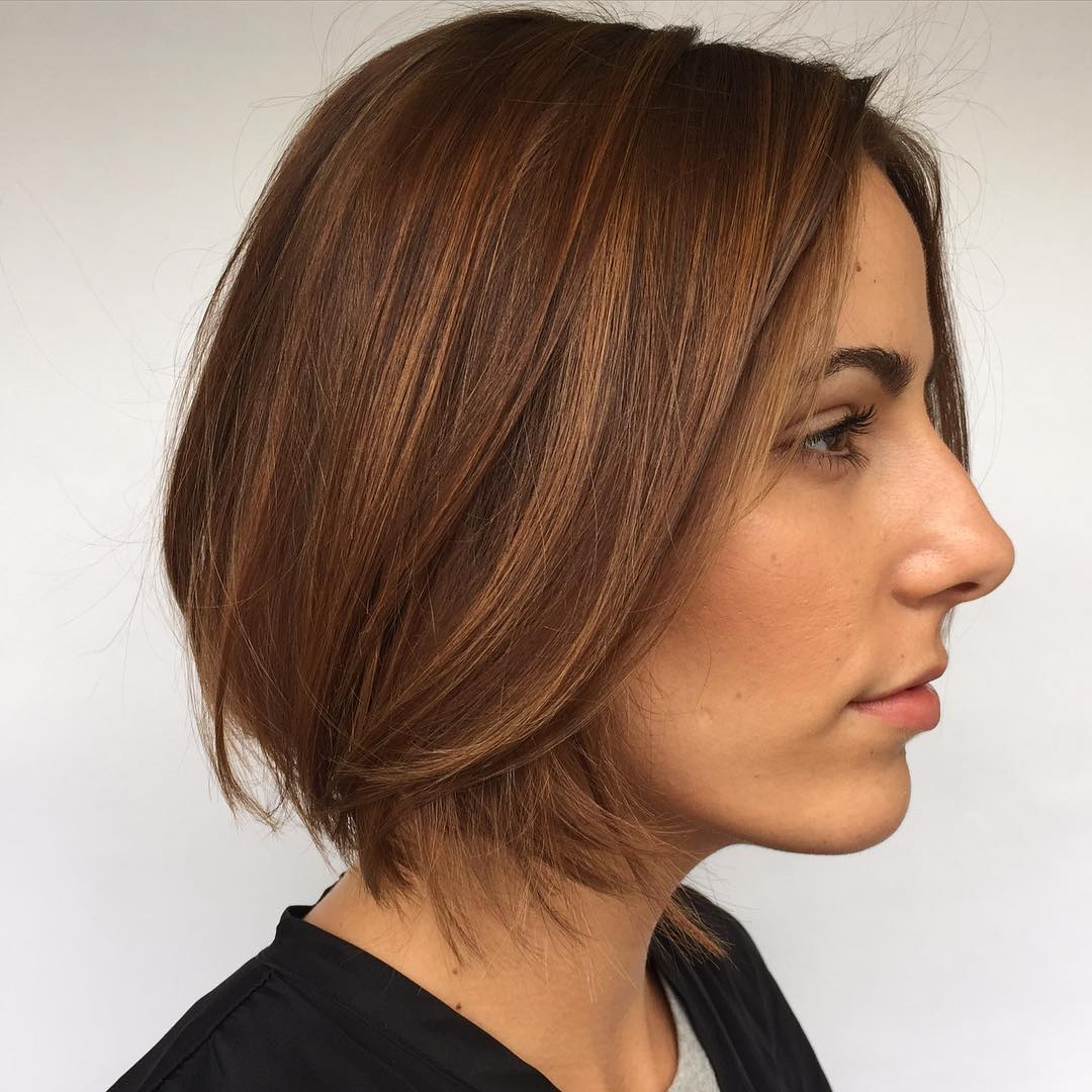Astounding Bob Haircuts For Fine Hair Long And Short Bob Hairstyles On Trhs Hairstyle Inspiration Daily Dogsangcom