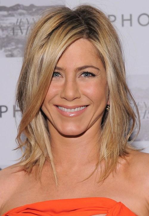 Jennifer Aniston edgy hairstyle