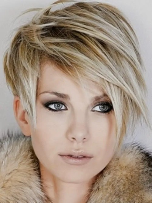 pixie for fine hair