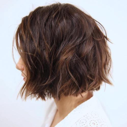 Messy Bob For Thick Coarse Hair