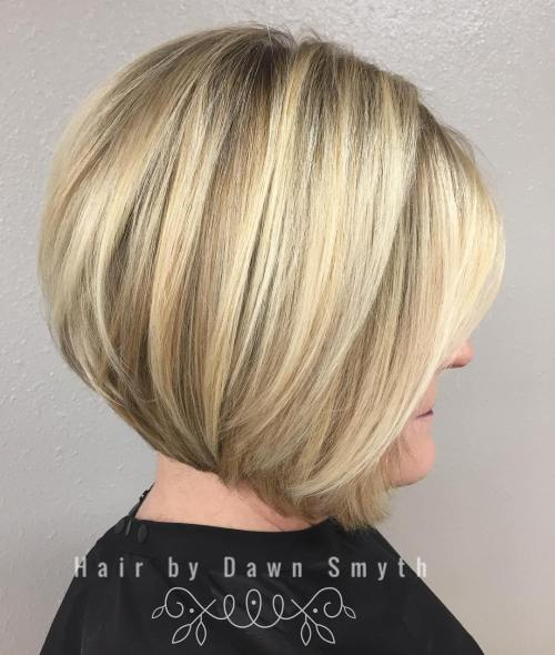 hairstyles for short straight hair over 50
