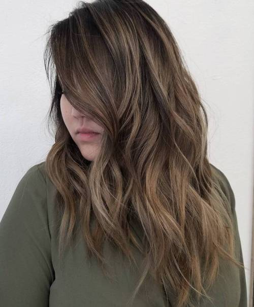 haircuts for long thick hair with layers and side bangs 60 most magnetizing hairstyles for thick wavy hair 4569 | 13 long layered haircut for thick hair