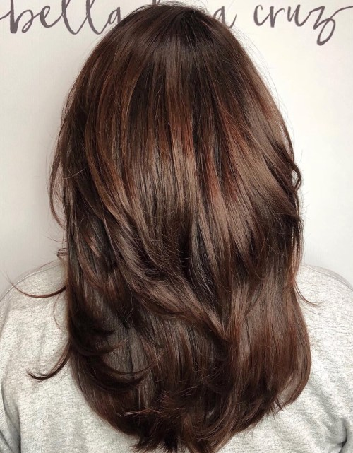 Medium-To-Long Layered Cut