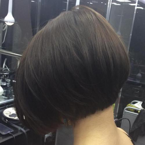 Brunette Bob Hairstyle