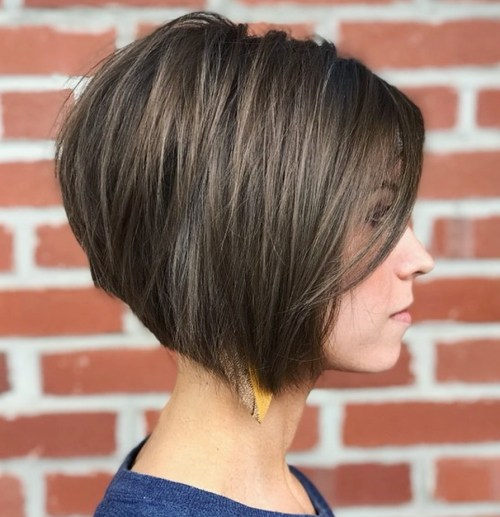 Elegant Straight Bob For Thick Hair