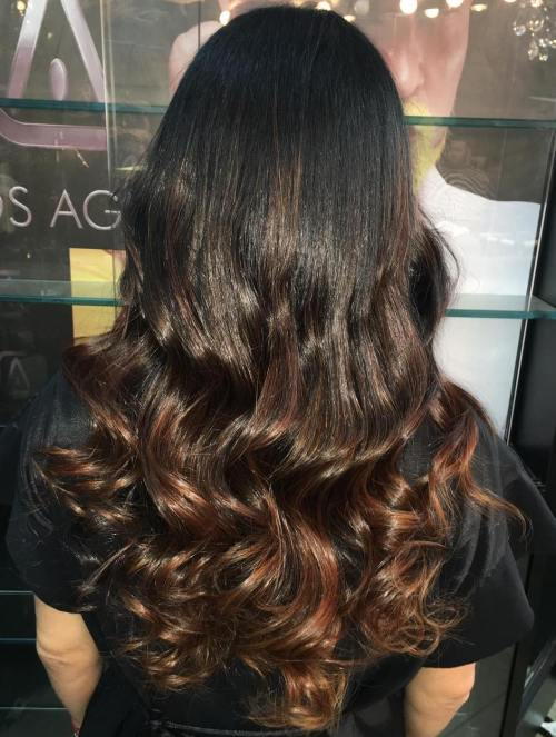 Chocolate Brown Ombre Hair