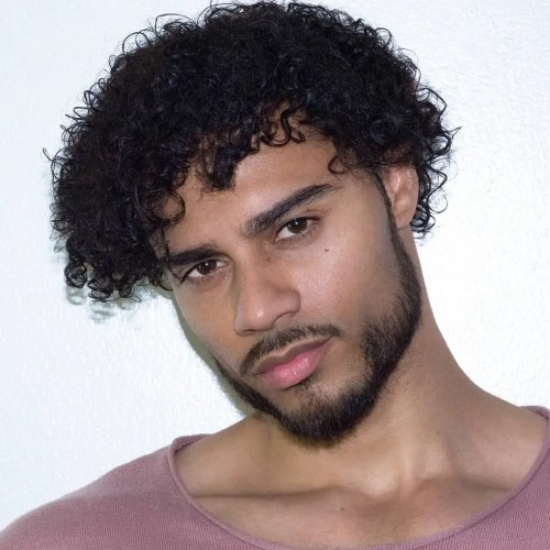 40 Stirring Curly Hairstyles for Black Men