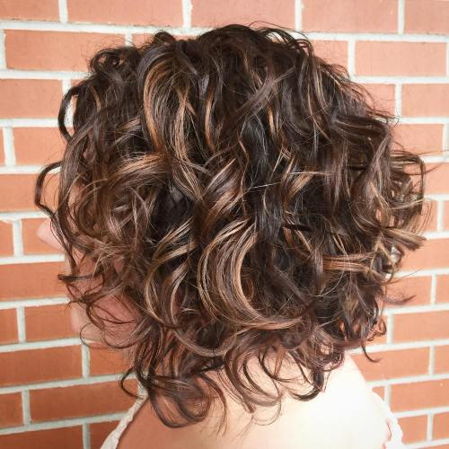 50 Different Versions of Curly Bob Hairstyle  50 Different Ve...