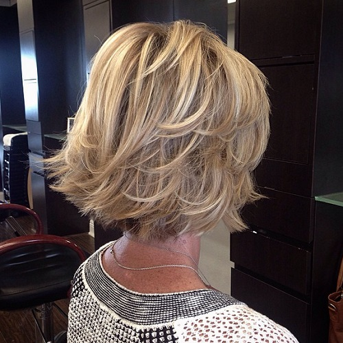 Hairstyles of mature women