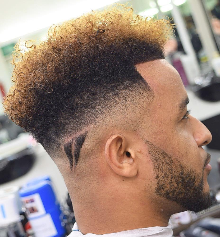 Long Top Fade For Natural Hair