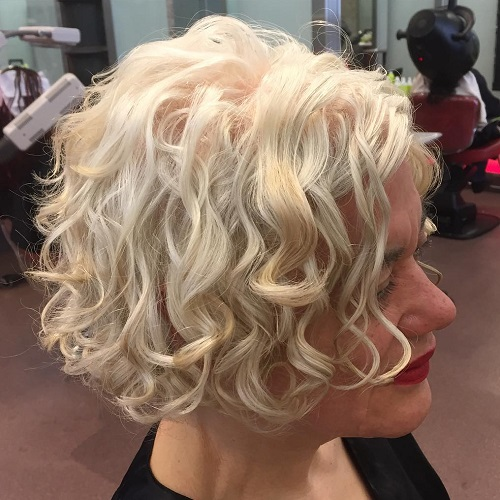 Different Versions Curly Bob Hairstyle