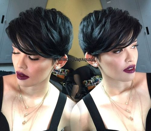 Brilliant 60 Classy Short Haircuts And Hairstyles For Thick Hair Short Hairstyles For Black Women Fulllsitofus