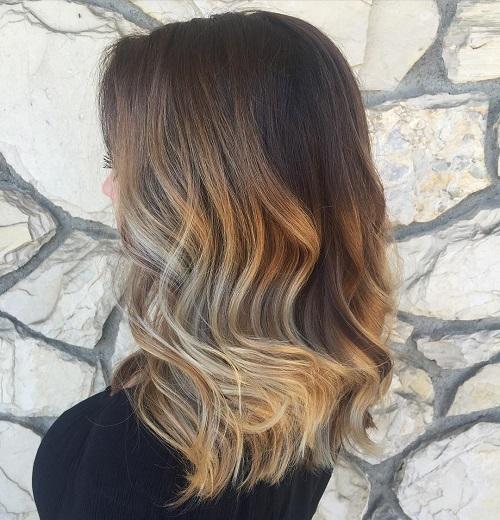 Coloring Dark Brown Hair Light Brown