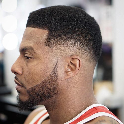 Low Fade With Facial Hairstyle