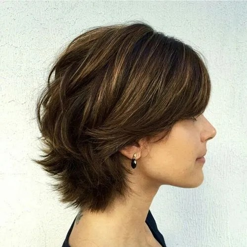 short layered styles for thick hair 60 haircuts and hairstyles for thick hair 6825 | 3 short layered haircut for thick hair