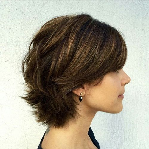 Good Short Layered Haircut For Thick Hair