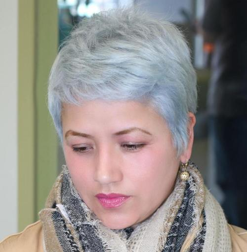 Wondrous 40 Cute Looks With Short Hairstyles For Round Faces Short Hairstyles Gunalazisus