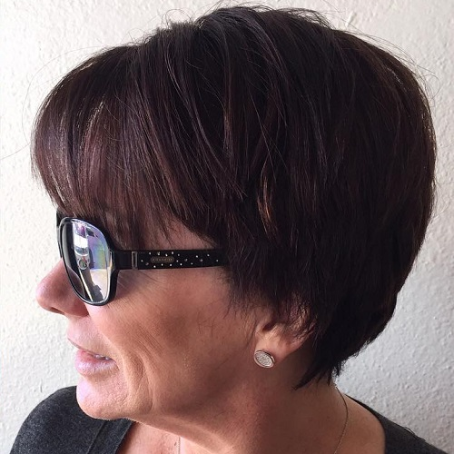 Cool 80 Classy And Simple Short Hairstyles For Women Over 50 Hairstyles For Women Draintrainus
