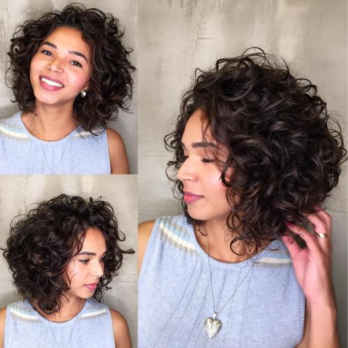 Wedge Curly Bob