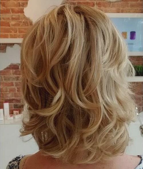 50 most universal modern shag haircut solutions 1 layered shaggy hair medium blonde layered hairstyle solutioingenieria Images