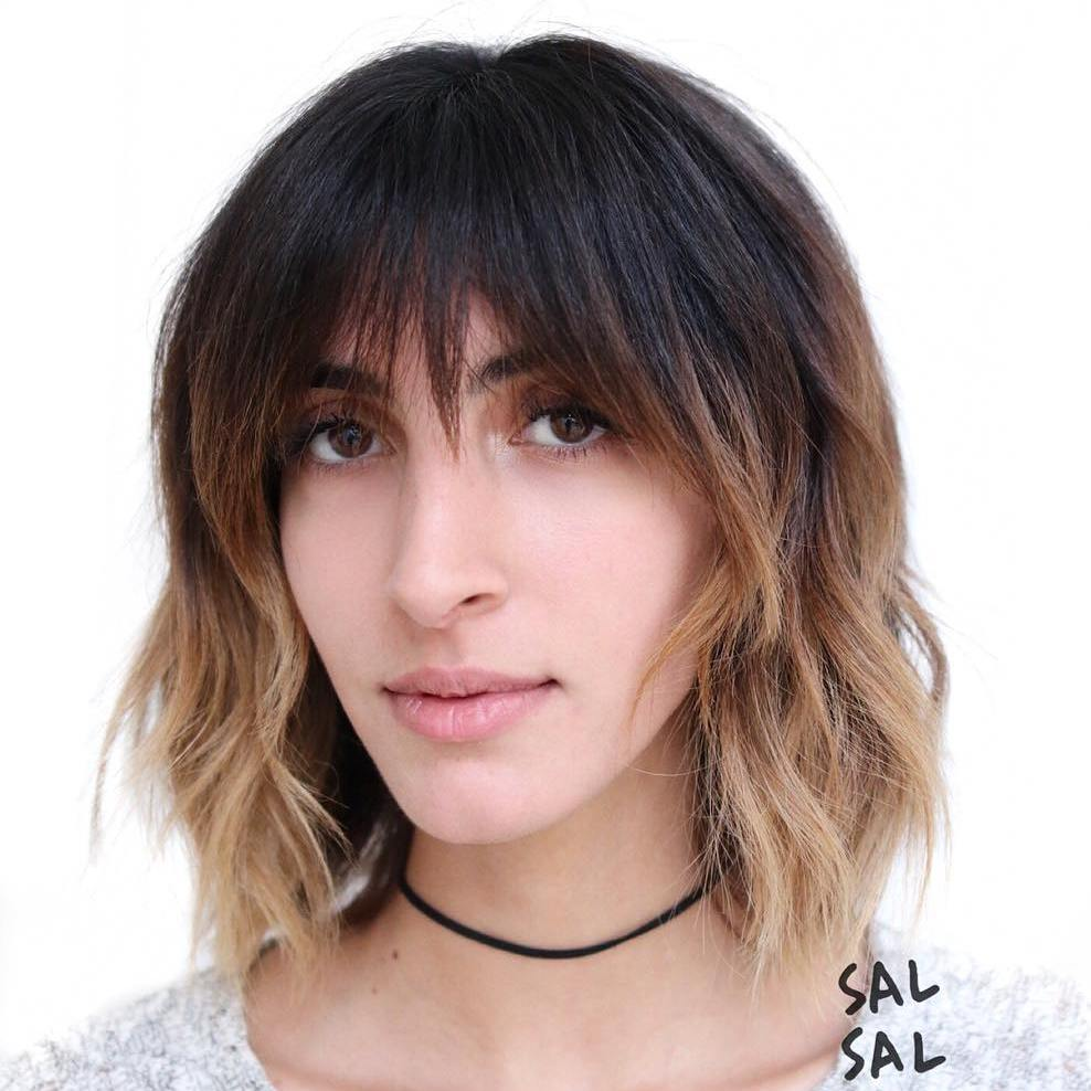 Short Ombre Hair With Bangs Www Pixshark Com Images