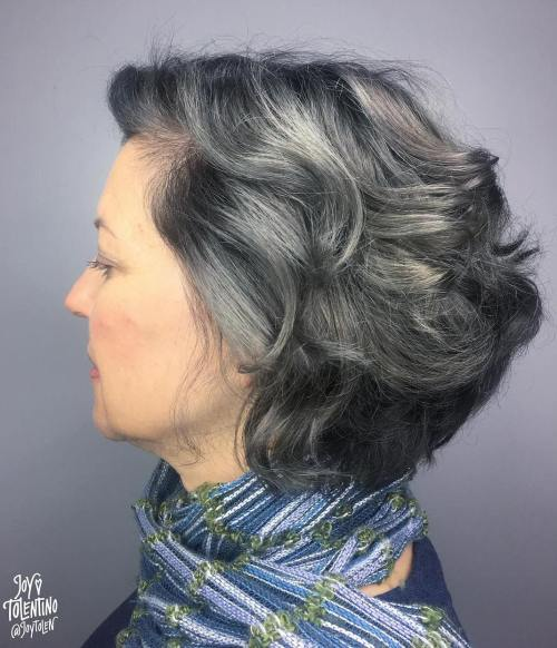 Short To Medium Wavy Cut