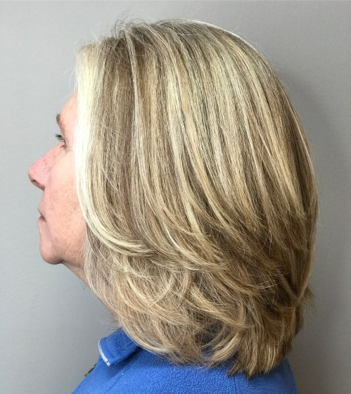 Soft Lob With Long Feathered Layers