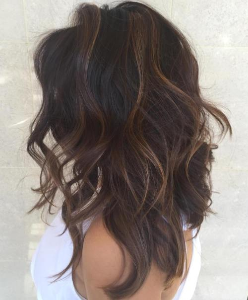 Miraculous 35 Lovely Long Shag Haircuts For Effortless Stylish Looks Short Hairstyles Gunalazisus