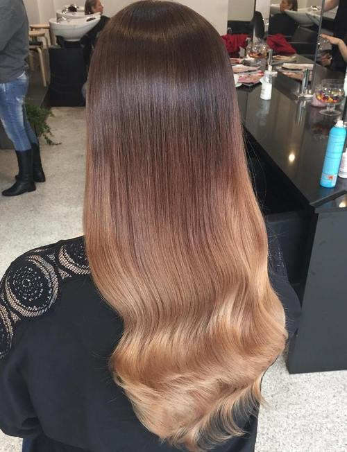 blonde ombre hair to charge your look with radiance