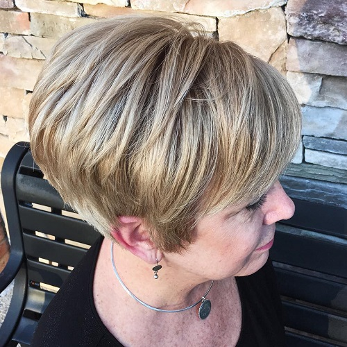 Short Bronde Hairstyle