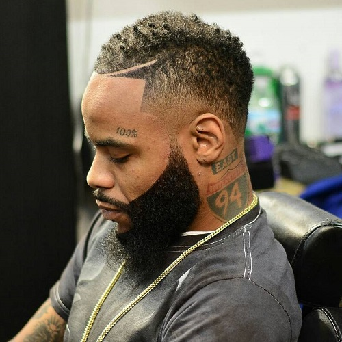 50 Stylish Fade Haircuts For Black Men In 2020